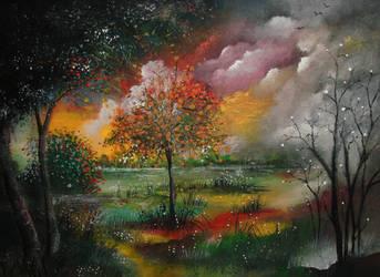 Garden of time by milenkadelic