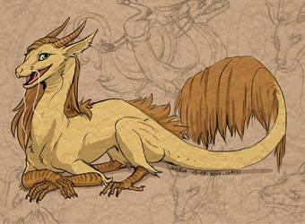 Beautiful Dragoness by louizim