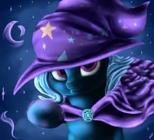 Magic Trixie by CometFire1990