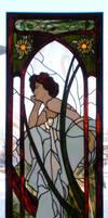 Mucha Window by Avogel57