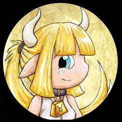 Zodiac Chibi of the Day - Taurus by lordzasz