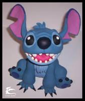 Stitch Sculpture by lordzasz
