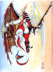 DevilAngel by LimeGreenSquid