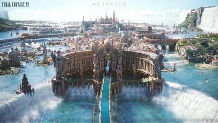 Final Fantasy XV - Altissia by NurBoyXVI