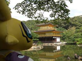 Renamon goes to Kyoto by j-fujita