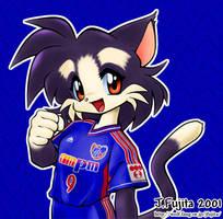 I like football by j-fujita