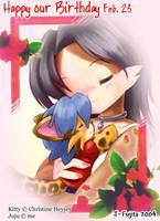 For Chrissy's Birthday by j-fujita