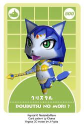 Krystal-Animal Crossing style by j-fujita