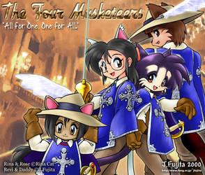 The 4 musketeers by j-fujita