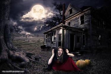 scary vampire house by pratt29
