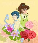 Ami and Makoto by fangshinobi