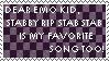 Emo Song Stamp by xCannibalVampire