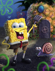Spongebob by Rahll