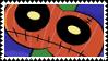 Zombie Pumpkin Magisword Stamp by pumpkinxspice