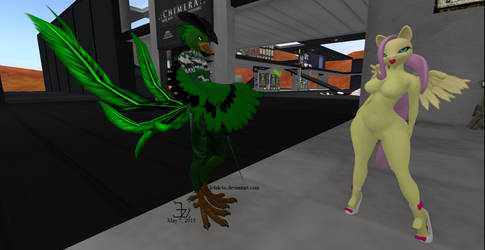 Meeting Fluttersaucy 1 by K4nK4n