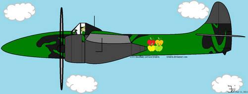 Applestack in F7F heavy fighter by K4nK4n