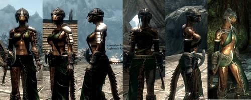 Applestack _ Divine Huntress' Armor by K4nK4n