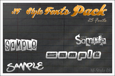 NF-Style Fonts Pack by NF-Style