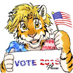 Vote 2018 by RuntyTiger