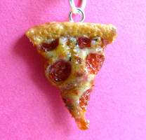 Pepperoni Pizza Charm by LittleSweetDreams