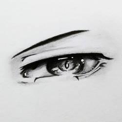 Eye sketch  by ItsArtemisa