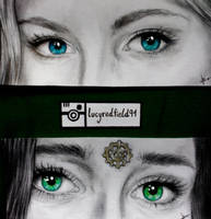 Eyes Set To Kill (my shipper heart) by LucyRedfield