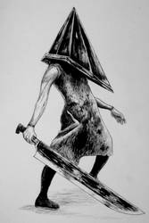 #3 Pyramid Head by McwitherzBerry