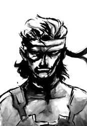 Solid Snake by McwitherzBerry