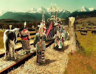 The Train by liselotteBerlin