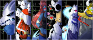 Poster: Undertale Friends by TogeticIsa