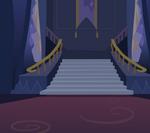Twilight's castle background by moonwhisperderpy