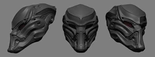 Helmet Predator by iRj