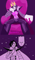 king mettaton by alalampone