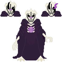 Monstrous Determination| WD Gaster Ref by JukeboxxSheepters
