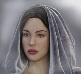 Arwen Undomiel by MillenniumPainter