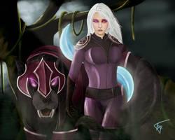 Luna, The Moon Rider by MillenniumPainter