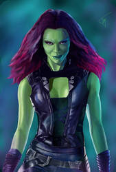 Gamora by MillenniumPainter