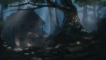 Medieval Dark Forest by AlexKuhn