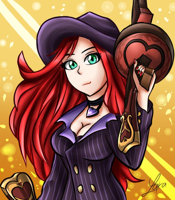 Mafia Miss Fortune by LarraLy