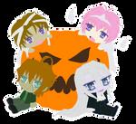 ::+ Happy Chibi Halloween +:: by Yami-Kaira