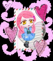::: Secret Valentine ::: Risa1 by Yami-Kaira
