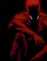 D - is for Daredevil by anklesnsocks
