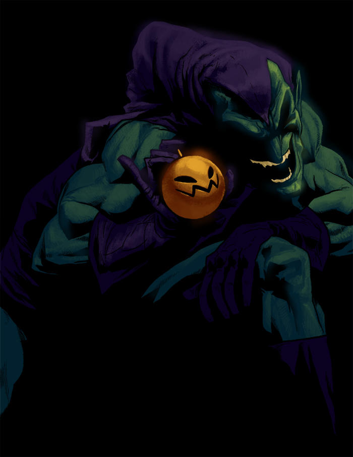 G - is for Green Goblin by anklesnsocks