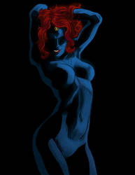 M - is for Mystique by anklesnsocks