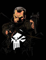 P - is for Punisher by anklesnsocks