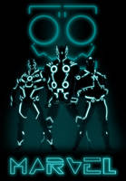 MARVEL TRON by anklesnsocks