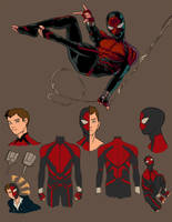 P:R Spiderman redesign by anklesnsocks