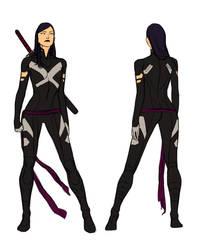 Uncanny X-force Vol. 2 - Psylocke by anklesnsocks