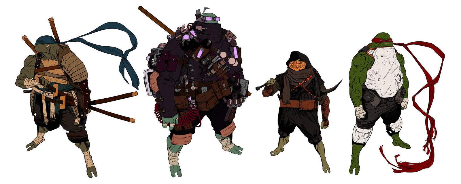 the turtles by anklesnsocks