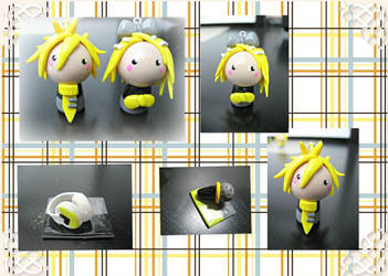 Kagamine Rin and Len by cupcakecutiefriends